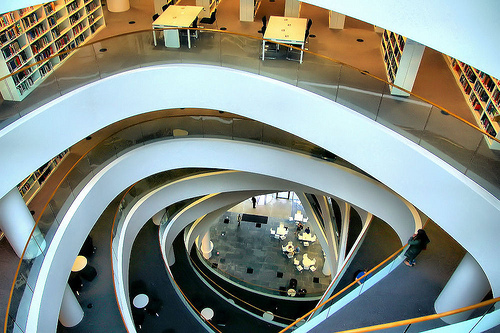 University of Aberdeen Library, Photo credit: Gordon M. Robertson