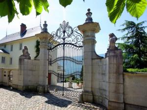 Villa entrance gate