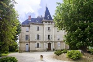 Chateau near Chambery, Savoie.