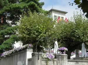 Hotel du Lac, as in Anita Brookner's novel