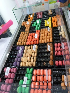 Macarons in Yvoire, France