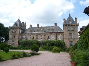 Chateau near Clermont-Ferrand.