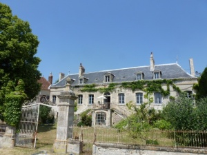 Chateau with gite (B&B).