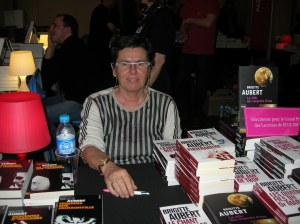 Some authors I met last year: Brigitte Aubert