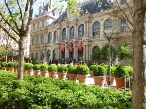 Palais du Commerce, main building for events.