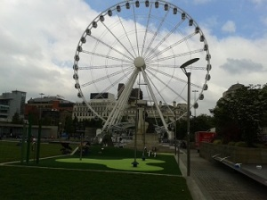 Manchester, Piccadilly Gardens.