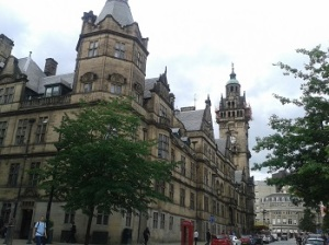 Town Hall, Sheffield.