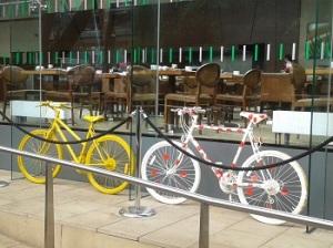 Tour de France preparations, Sheffield.