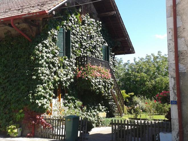 Farmhouse in Chavanne des Bois, Switzerland.