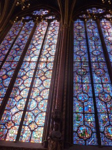 Sainte Chapelle  stained windows.