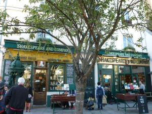 The obligatory pilgrimage to Shakespeare & Co. bookshop. Although, as my older son said: 'What's the point of bringing us here if we don't buy any books?'