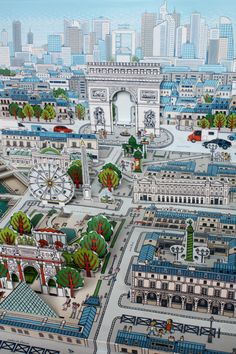 I do wish I'd bought this pop-up book of Paris...