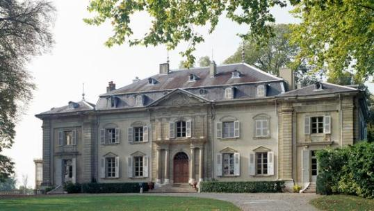 Voltaire's chateau in Ferney-Voltaire. From culture.fr