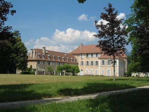Paul Claudel's Chateau de Brangues, in a village that Stendhal wrote about in 'The Red and the Black'.