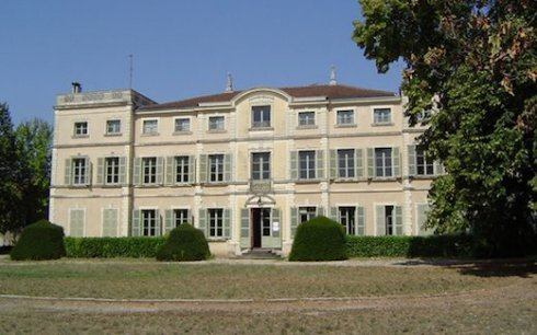 Antoine de Saint-Exupery's childhood home in Saint Maurice near Lyon. From Terre des Ecrivains website.