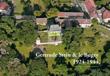 Gertrude Stein's refuge from Paris during WW2, Bilignan near Belley. From Tourisme Belley-Bas-Bugey website.