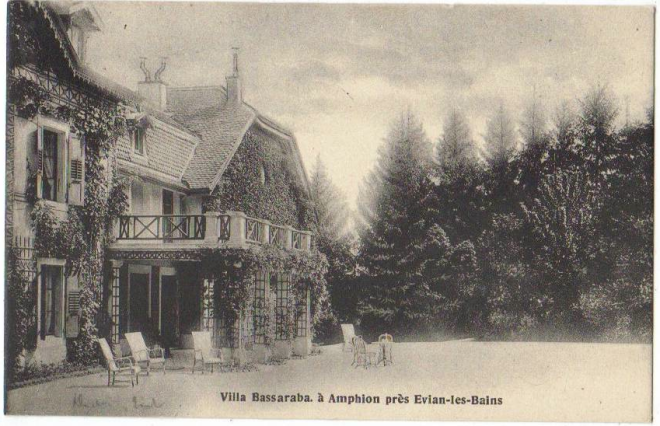 Villa Bassaraba, from Comtesse de Noailles fan blog site.