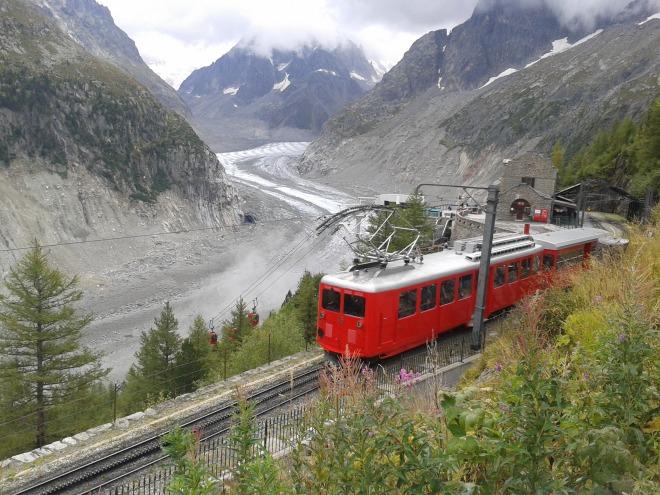 Mer de Glace, Mont Blanc.