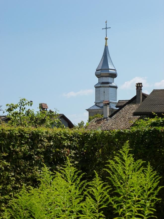Jardin des Cinq Sens, Yvoire.