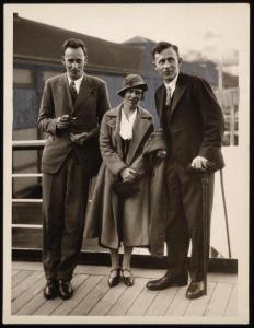 Bateson, Mead and Fortune in 1933. Library of Congress.