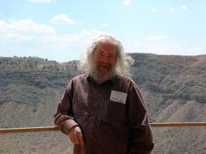 John Grant author photo (Meteor Crater, Arizona) (1)