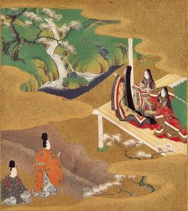 """Ch5 wakamurasaki"" by Tosa Mitsuoki - The Tale of Genji: Legends and Paintings. Licensed under Public Domain via Wikimedia Commons - http://commons.wikimedia.org/wiki/File:Ch5_wakamurasaki.jpg#/media/File:Ch5_wakamurasaki.jpg"