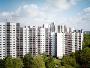 The stigmatised Gropius neighbourhood in Berlin.