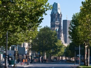 The more touristy image of Kurfurstendamm, from  economist.com