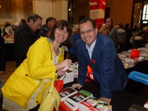 Liad Shoham and yours truly in Lyon, 2014.