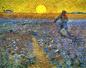 The Sower, from Wikiart.