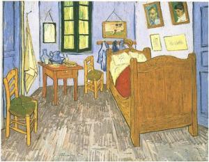 Vincent's room in Arles, vangoghgallery.com