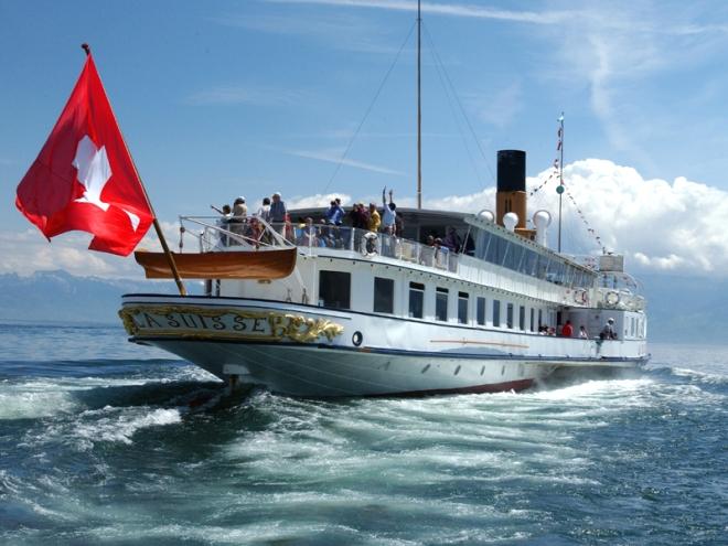 Boat rides on Lake Geneva, www.genferseegebiet.ch
