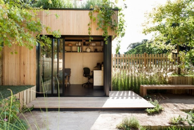 Garden shed of joy, from gardenista.com