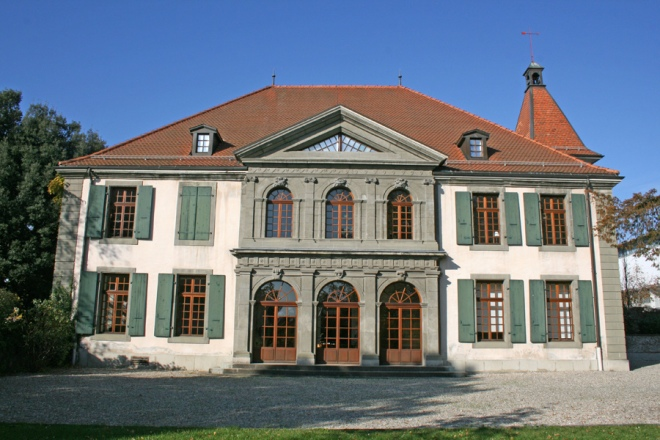 Chateau Beaulieu, now a public building in Lausanne. From lausanne.ch