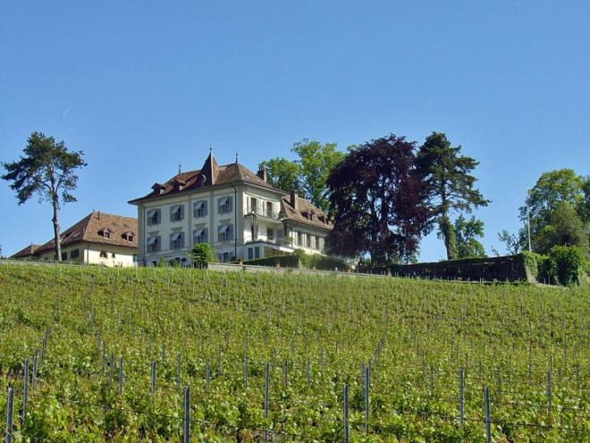 Chateau Lonay near Lausanne, from morges-tourisme.ch