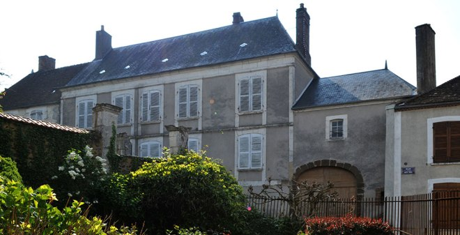 Colette's birthplace, the house of Sido. From maisondecolette.fr