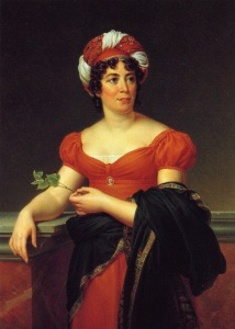 Portrait by Marie Eléonore Godefroid.