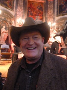 Craig Johnson with his Stetson.