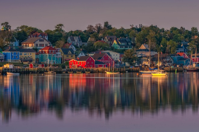 Another Nova Scotia beauty: Lunenburg, from theplanetD.com