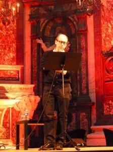 David Peace reading.