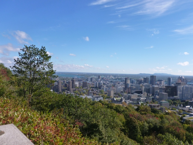 View from Mont Royal, Montreal