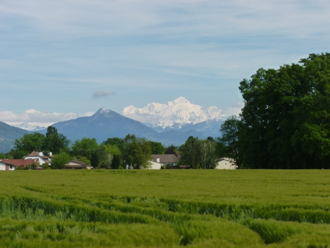 Reason 6: Mont Blanc dominating the horizon no matter where you are