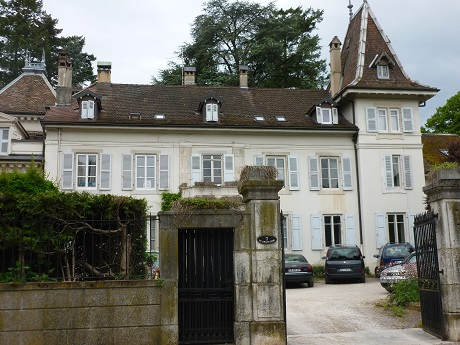 In the late 19th century the village became a tourist attraction once more because of Voltaire, and this building once housed a hotel.