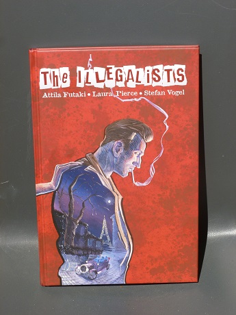 The front cover.