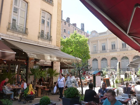 Some eating at a traditional Lyonnais bouchon may have been involved...