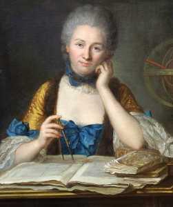 The portrait by Latour.