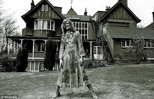 Haddon Hall in Beckenham, where David Bowie lived in a commune-like environment in the early 1970s, one of his most productive and creative periods. It was demolished to make way for a road and a block of flats.