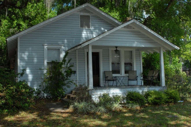 Kerouac's cottage in the Orlando neighbourhood where he wrote The Dharma Bums. 4 three-month residencies a year are available to writers of 'any stripe or age, living anywhere in the world.