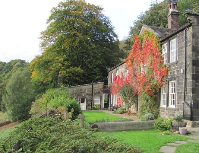 Lumb Bank is another house formerly owned by Ted Hughes, and is currenty an Arvon Writers' Centre.