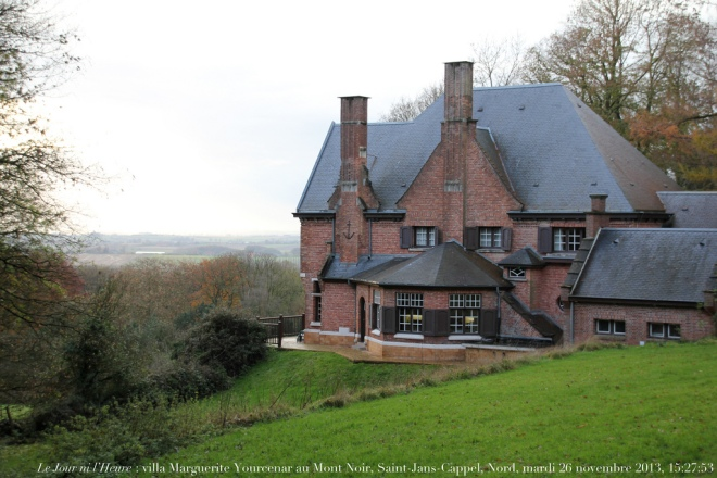 Marguerite Yourcenar's villa not far from Lille and the Belgian border offers 1-2 month residencies to European writers.